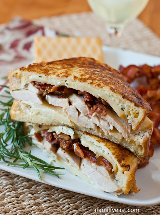 Turkey Monte Cristo with Rosemary Aioli - A Family Feast