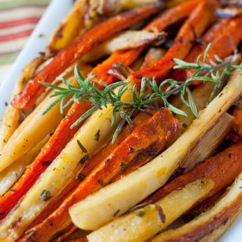 Roasted Carrots and Parsnips - A Family Feast
