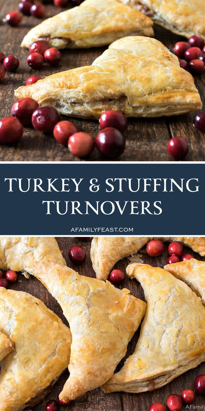 Turkey & Stuffing Turnovers