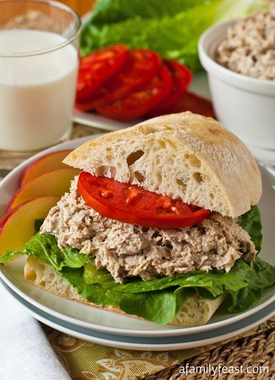 Turkey Salad Sandwich - A Family Feast