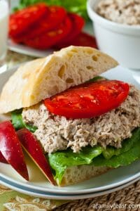 Turkey Salad Sandwich - A Family Feast