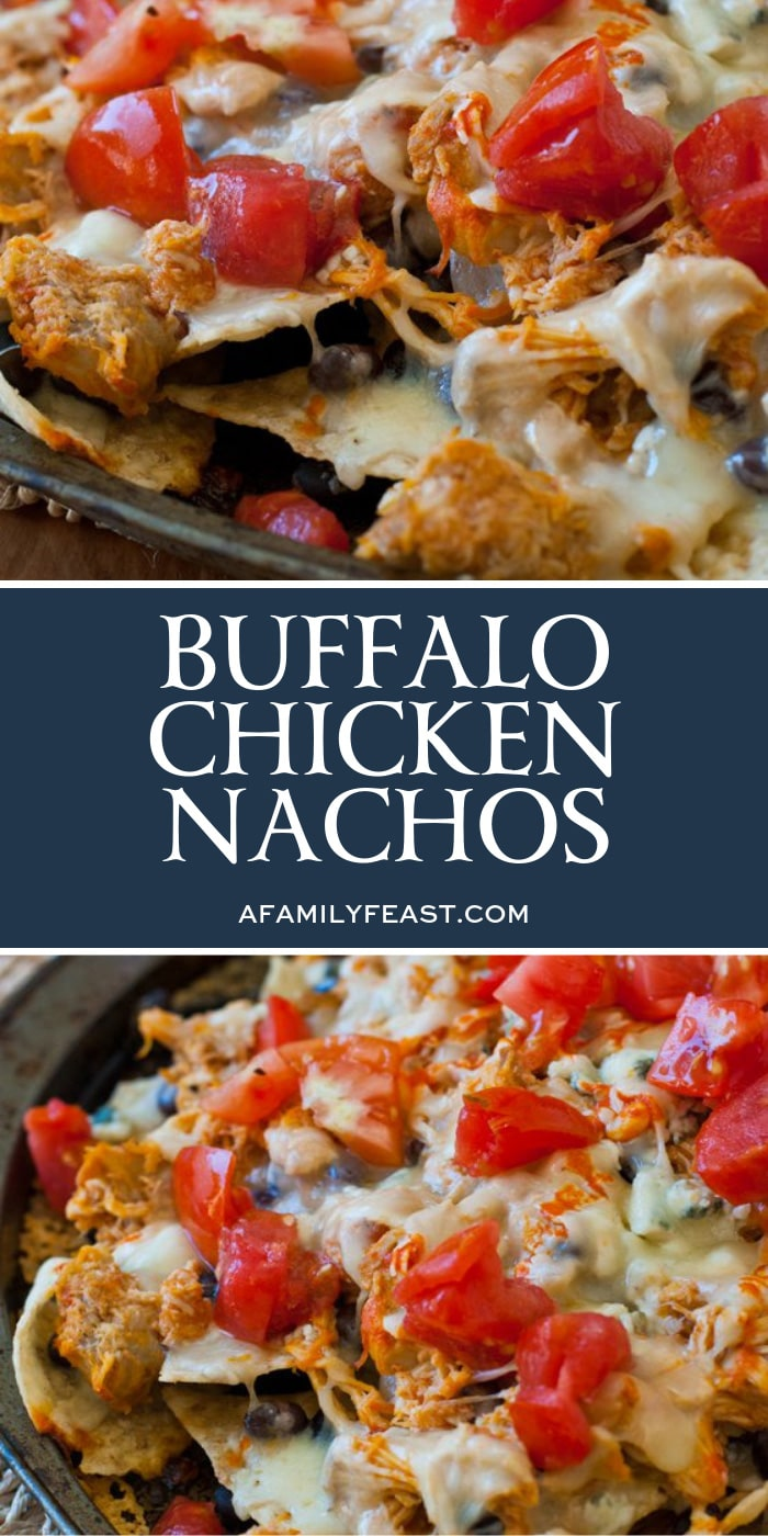 Buffalo Chicken Nachos