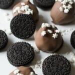 Snowflake OREO Cookie Balls - A Family Feast