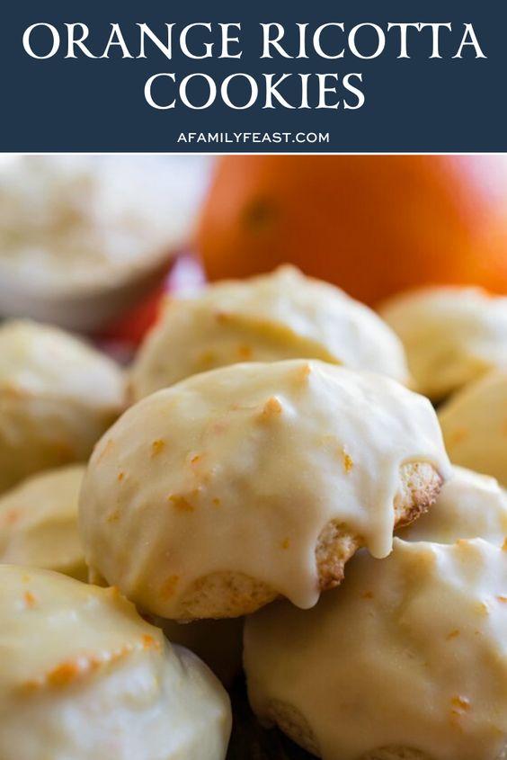Orange Ricotta Cookies