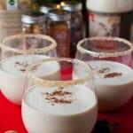 Spiced Eggnog Cocktail - A Family Feast