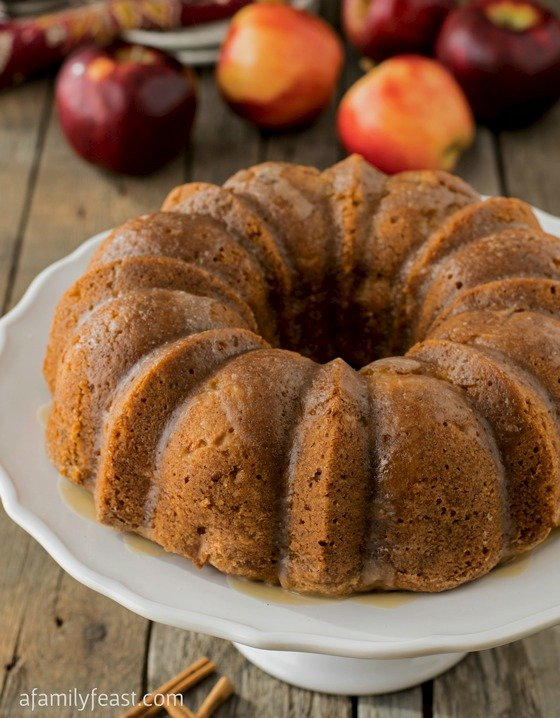 The Best Apple Cake Ever