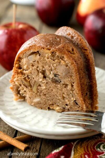 Best Apple Cake Ever - A Family Feast