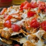 Buffalo Chicken Nachos - A Family Feast