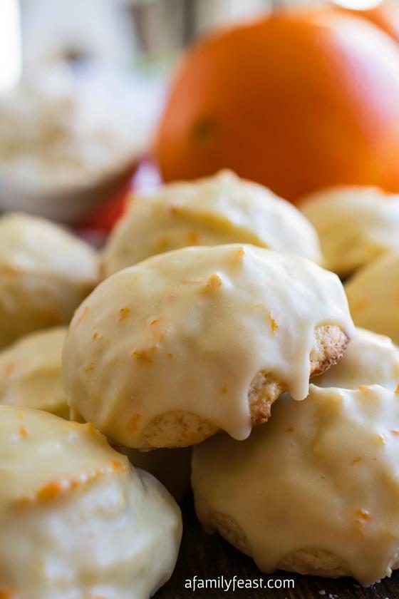 Orange Ricotta Cookies - A Family Feast