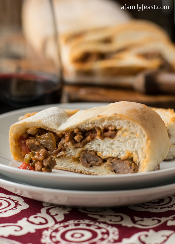 Sausage Bread - A Family Feast