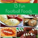 15 Fun Football Foods