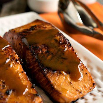 Easy Glazed Salmon - A Family Feast