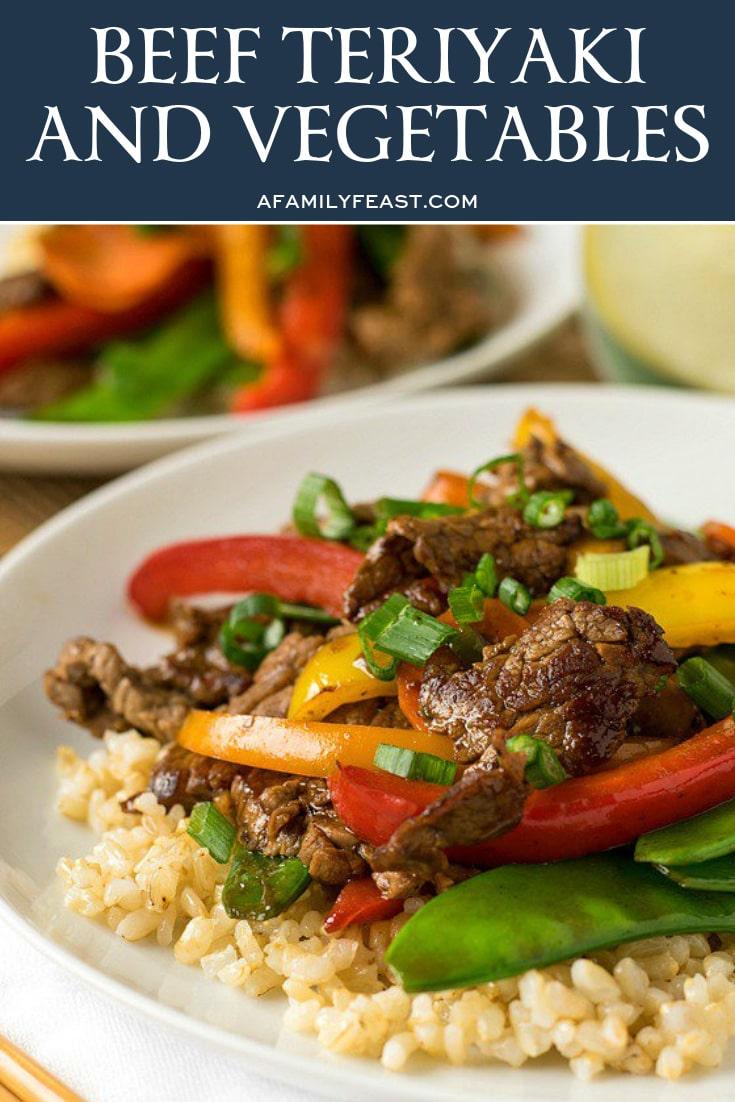 Beef Teriyaki & Vegetables