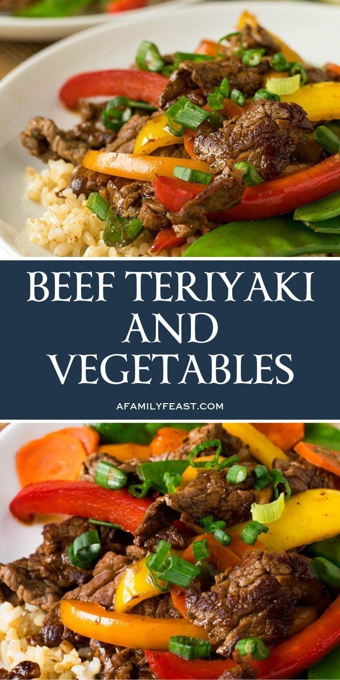 Beef Teriyaki & Vegetables
