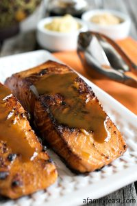 Easy Glazed Salmon
