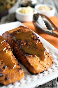 Easy Glazed Salmon