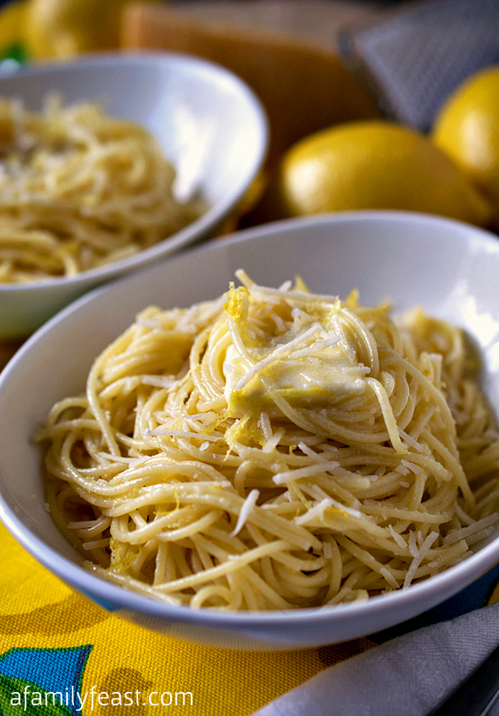 Lemon Pasta - A Family Feast