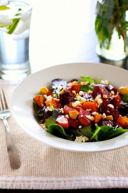 Roasted Balsamic Beets Salad - 20 Sensational Healthy Salads
