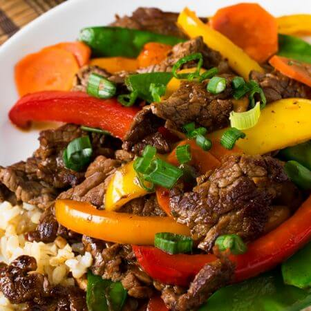 Beef Teriyaki and Vegetables - A Family Feast #SimpleStart