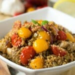 Couscous with Lentils and Vegetables