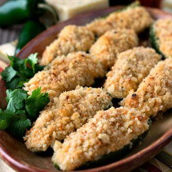 Baked Jalapeño Poppers - A Family Feast