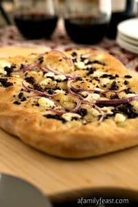 Mediterranean Flatbread - A Family Feast