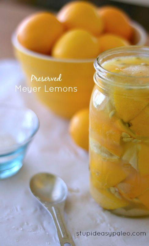 Preserved Meyer Lemons - 15+ Luscious Lemon Recipes