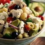 Avocado Chicken Pasta Salad - A Family Feast