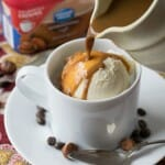 Hazelnut Affogato - A Family Feast