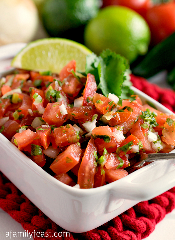 Add fresh and fantastic flavor to any Mexican-inspired meal with our classic Pico de Gallo recipe!