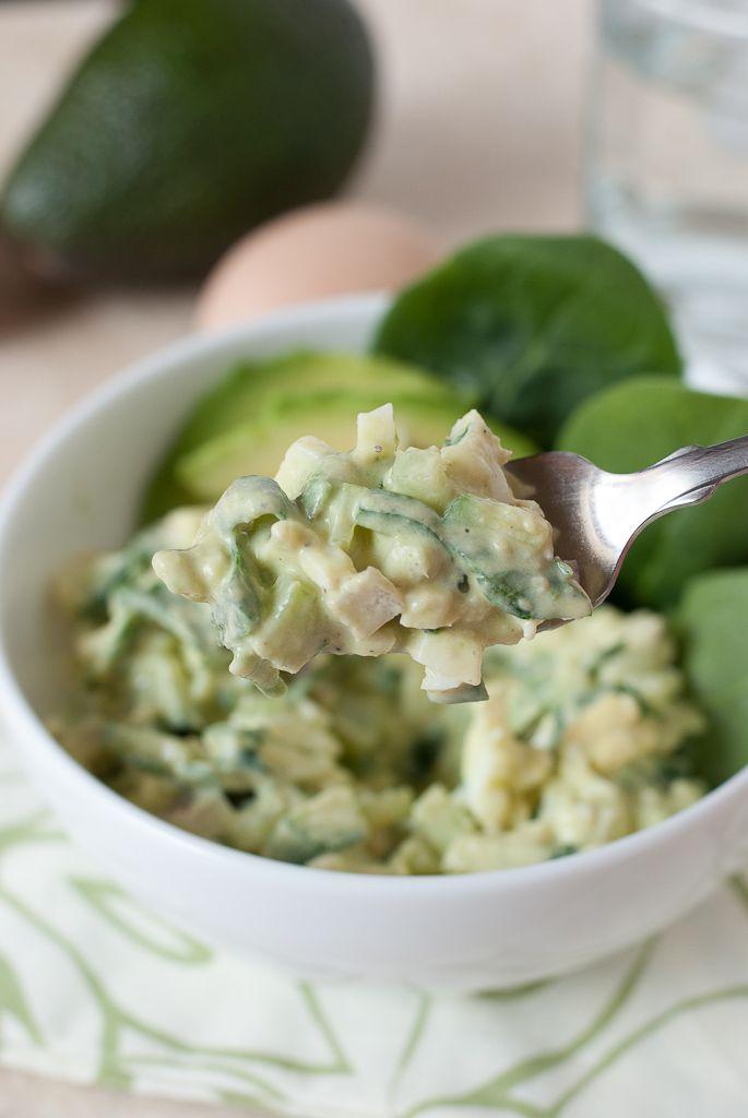 Avocado Egg Salad - 12 Eggs-cellent Egg Salad Recipes