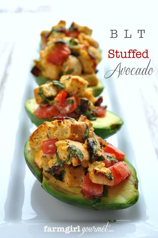 BLT Stuffed Avocado – 20-plus Awesome Avocado Recipes