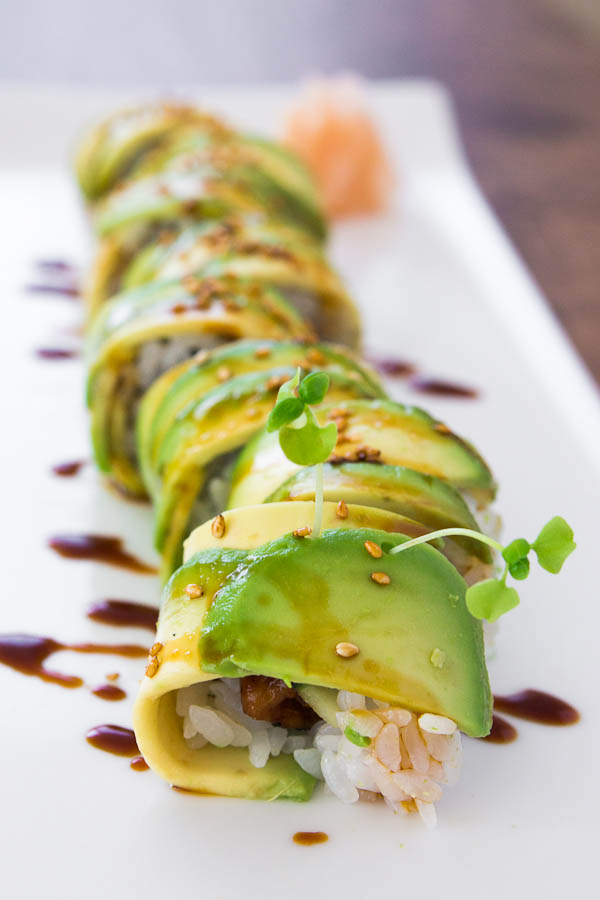 Caterpillar Roll – 20-plus Awesome Avocado Recipes