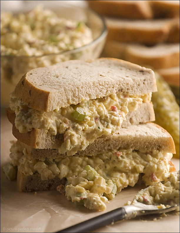 Deviled Egg Salad Sandwiches - Jalapeno, Caper, and Avocado Egg Salad - 12 Eggs-cellent Egg Salad Recipes