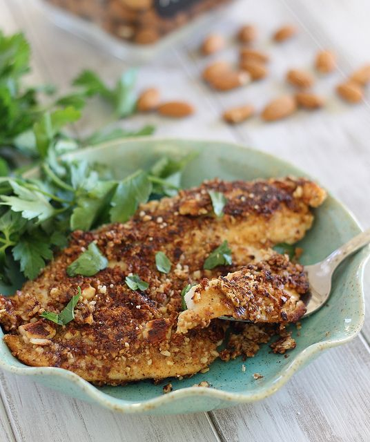Dijon Almond Crusted Tilapia - 25-Plus Delicious Dijon Recipes