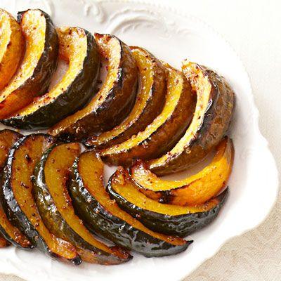 Orange-Dijon Roasted Acorn Squash - 25-Plus Delicious Dijon Recipes