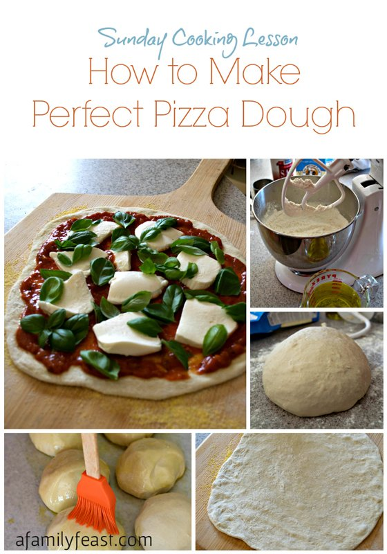 How to make perfect pizza dough - this is the best pizza dough recipe ever!