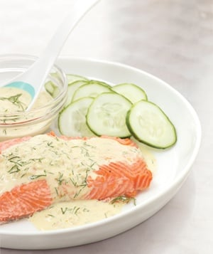 Salmon With Dijon Dill Sauce - 25-Plus Delicious Dijon Recipes