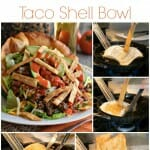 Sunday Cooking Lesson: How to Make a Taco Shell Bowl