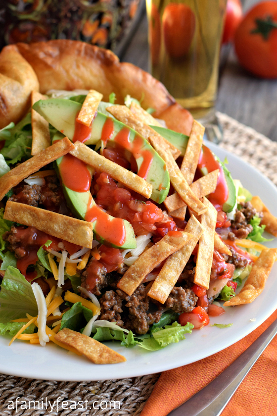 Taco Salad - A Family Feast