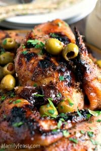 Chicken Marbella - A Family Feast