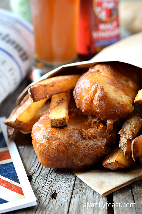 english-style fish and chips - a family feast, Reel Combo