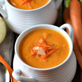 Carrot and Ginger Soup - A Family Feast