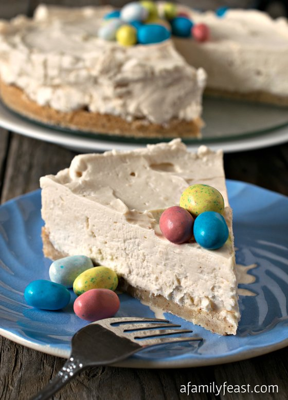 Malted Mousse Cake - A Family Feast