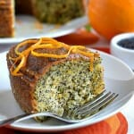 Orange Poppy Seed Cake - A Family Feast