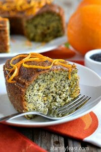 Orange Poppy Seed Cake - A Family Feast