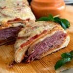Loaded Italian Sub with Roasted Red Pepper Aioli - A Family Feast