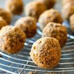 Crispy Chocolate Biscoff Truffles - A Family Feast