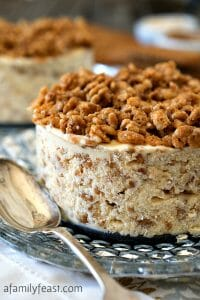 Biscoff Crunch Ice Cream Cake - A Family Feast