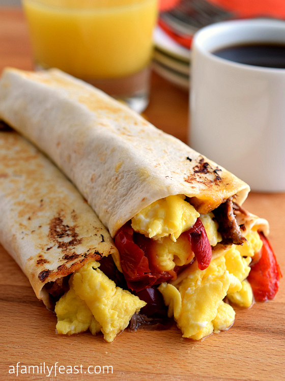 Breakfast Burritos - A Family Feast